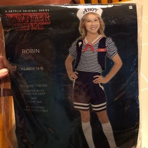 Robin Scoops Ahoy costume from Stranger Things